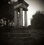 Holga Study of Abney Park in London by Christopher John Ball - Photographer & Writer