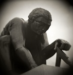 Holga and Diana photographs of London Statues and Monuments by Christopher John Ball - Photographer and Writer